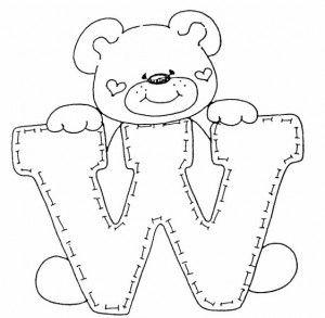 desenho alfabeto ursinhos decoracao sala de aula (22)