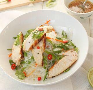 Chicken & Coriander Angel Hair Salad