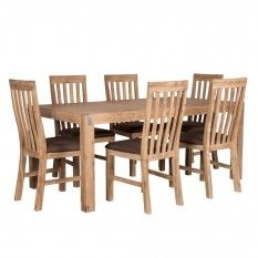 Brix 7 Piece Dining Package, Light