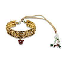 Buy Classic antique gold baju bandh bajuband online