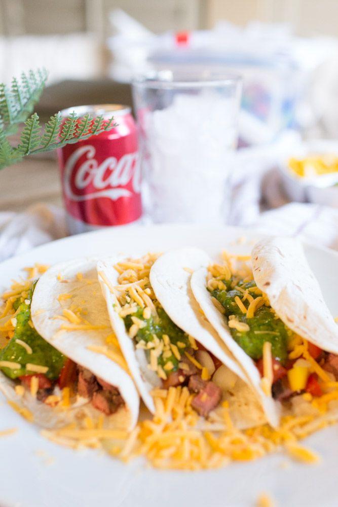 Delicious Chimichurri Steak Soft Tacos