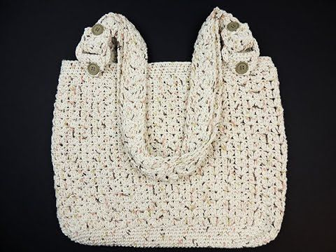 Crochet: Bolso Casual, My Crafts and DIY Projects