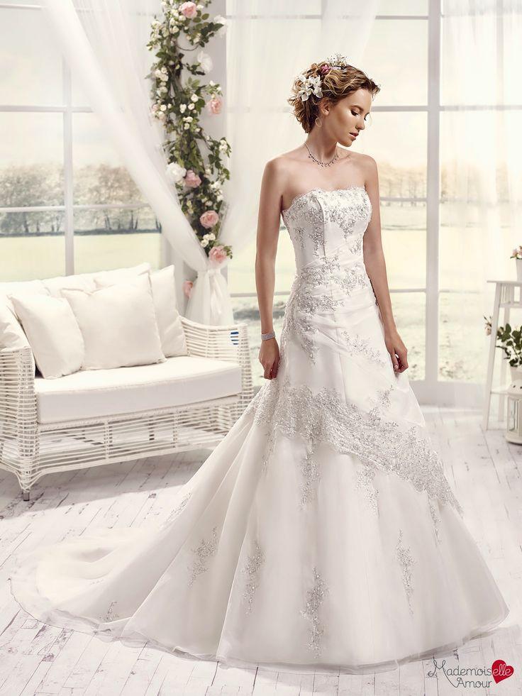 Robe de mariée Mlle Australe, robe de mariage broderies perlées, robe de mariée…