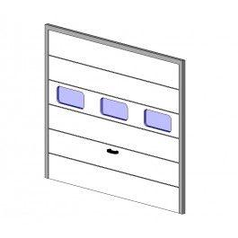 Roller Shutter Door Revit model