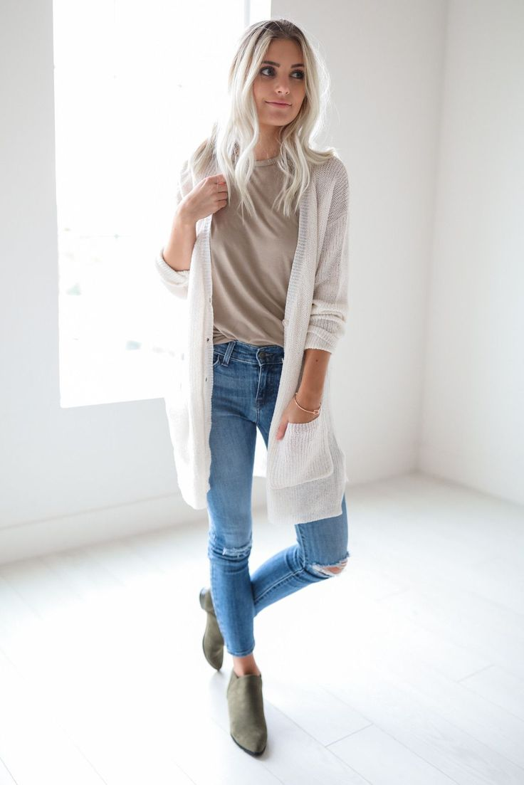 Vivian Cream Cardigan - 185 Best How To Wear Cardigans Images On Pinterest