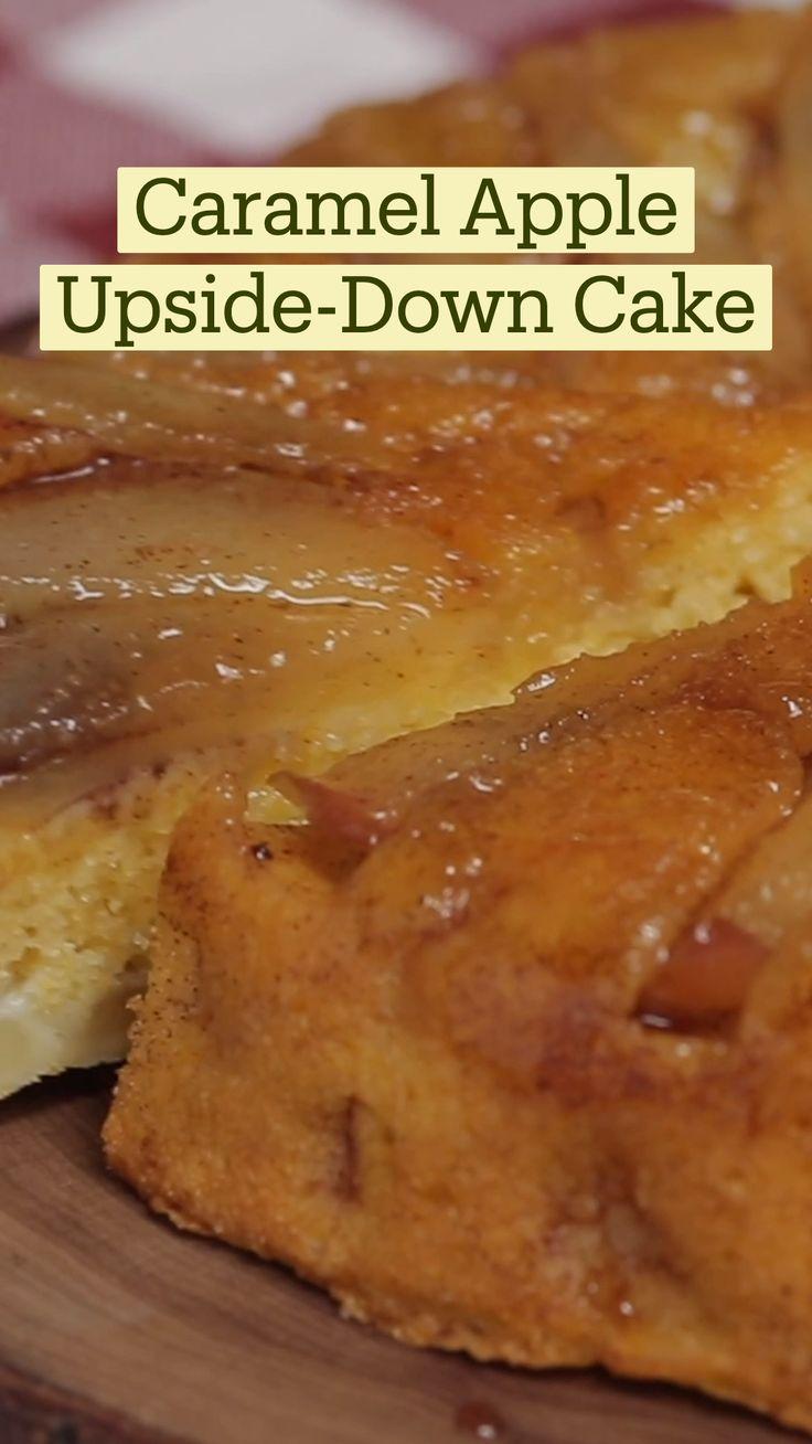 Fun Baking Recipes, Apple Recipes, Cake Recipes, Cooking Recipes, Easy Desserts, Delicious Desserts, Yummy Food, Comida Diy, Cupcake Cakes