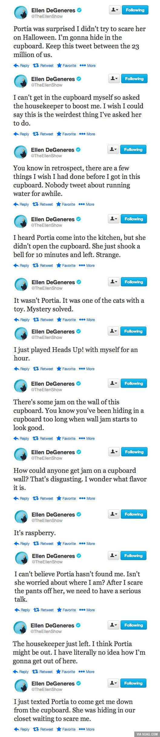 Married Life with Ellen and Portia <---This is the best thing ever I WANT MARRIAGE LIKE ELLEN & PORTIA'S