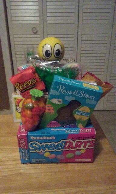153 best bouquets and gift baskets by jaime images on pinterest seeettart easter basket for little boy negle Images