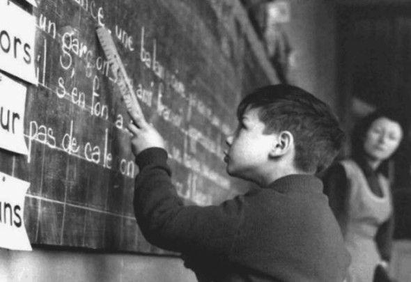 Nos lycéens font-ils plus de français que les écoliers d'autrefois ? (Pierre Jacolino, février 2015)