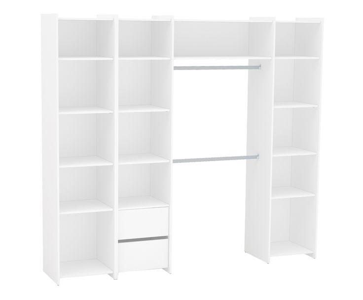 Módulo para Closet Diamante Branco - 234x45cm | Westwing - Casa & Decoração