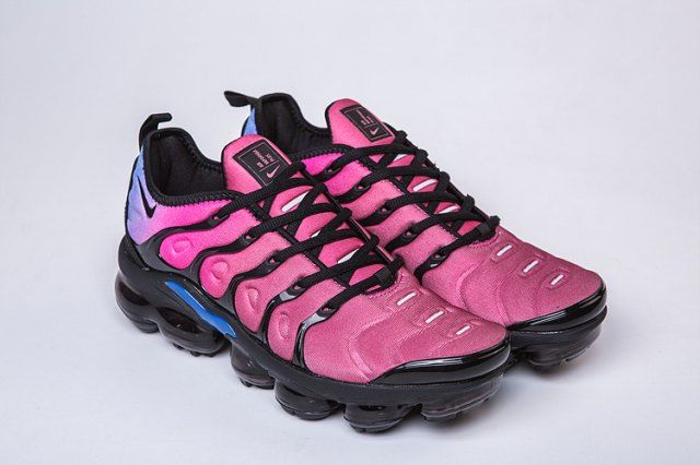 8ab7b561eb3ed Nike Air VaporMax Plus TN Purple Burgundy Blue Men s Running Shoes Casual  Sneakers