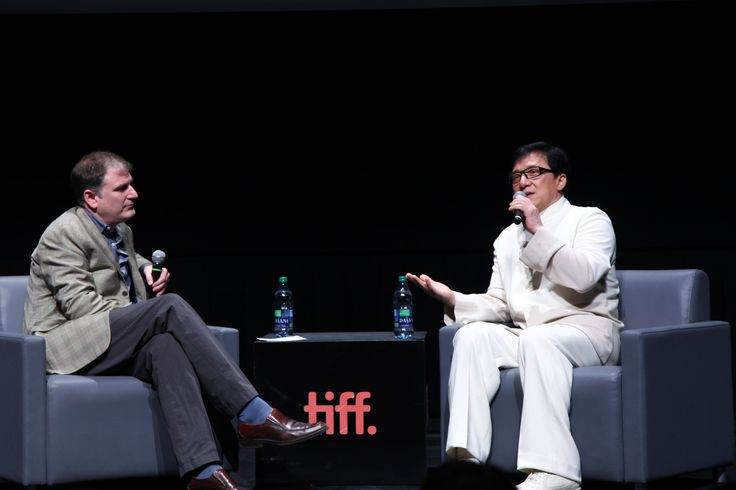 Jackie Chan comes to visit TIFF Bell Lightbox for A Century of Chinese Cinema