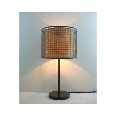 Shop unbranded chrome finish table lamp chocolate shade at lowes canada find our selection of table lamps at the lowest price guaranteed with price match