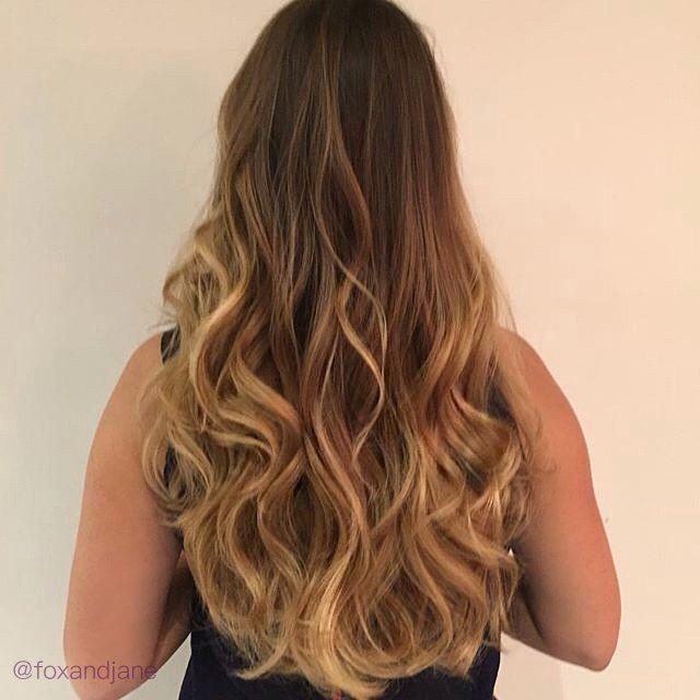 Honey Dipped Hair   #Balayage #longhair #hairgame #hairgamestrong #goodhair #blondebalayage #handpaintedhair #hairarmy #foxandjaneworkshop #hairguru #goals #hairgoals #behindthechair #foxandjane #modernsalon #topsalon #hairstyles #hairposts