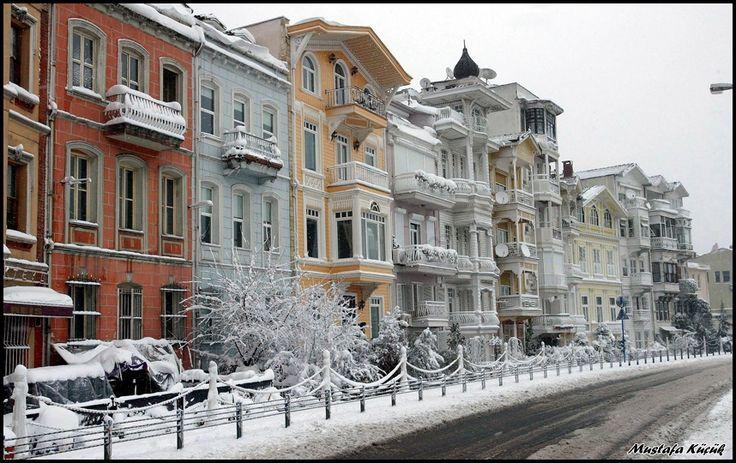 Winter times at Arnavutköy. Bosphorus Hauses - İstanbul, Türkiye