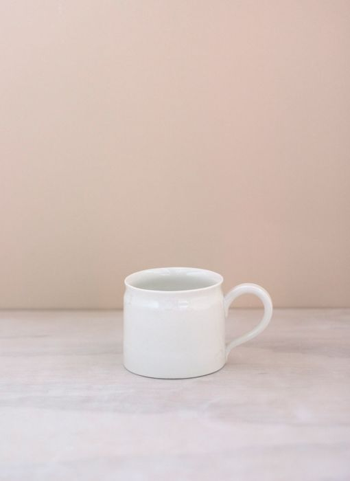 Porcelain Coffee Cup // Taus Ceramic