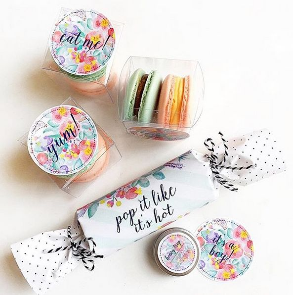 Pop it like its hot with @paperplayground #CelebrateWithAvery#DIY#labels#printables#artist#celebration#event#gift