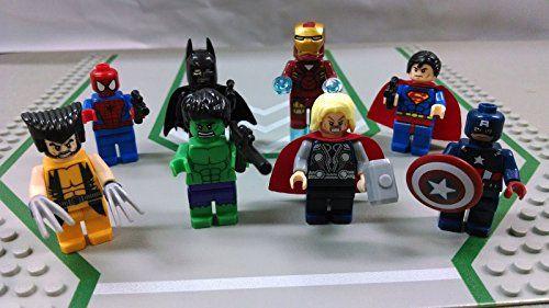 AVENGERS 8 Piece Minifigures Mini Figures Toy Blocks @ niftywarehouse.com #NiftyWarehouse #Geek #Fun #Entertainment #Products