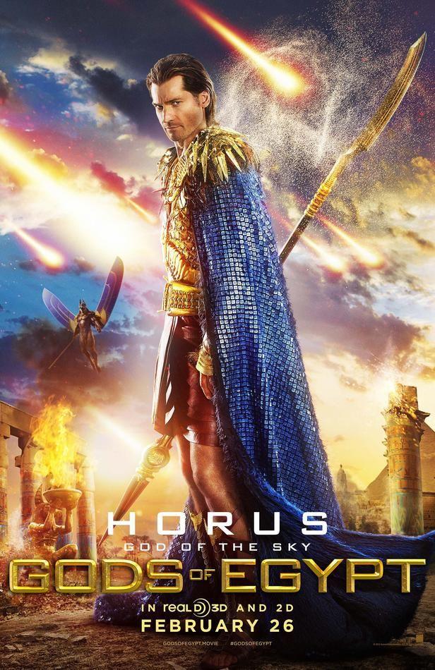 <em>Gods of Egypt</em> Nikolaj Coster-Waldau Poster