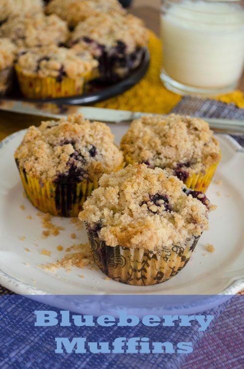 To Die For} Blueberry Muffins-My mom made these for Amelia's baptism ...