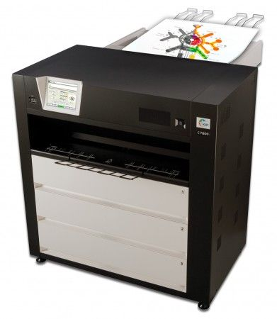 KIP C7800, High powered colour, wide format printer, wide format printing,