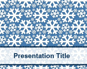 Frozen PowerPoint template is a free background with ice style for Microsoft Power Point presentations