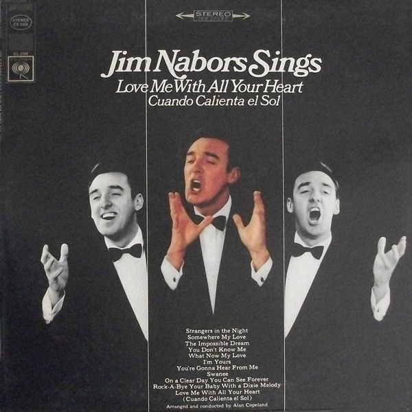 Jim Nabors - Jim Nabors Sings Love Me With All Your Heart (Vinyl, LP, Album) at Discogs