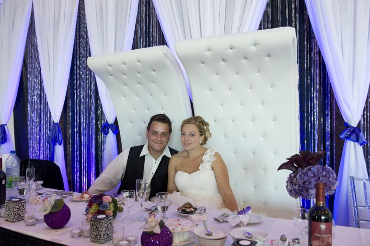 Brides & Grooms Should Have a Special Chair its THERE DAY