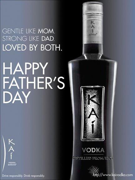 #Kai Vodka... helping parents since 2007