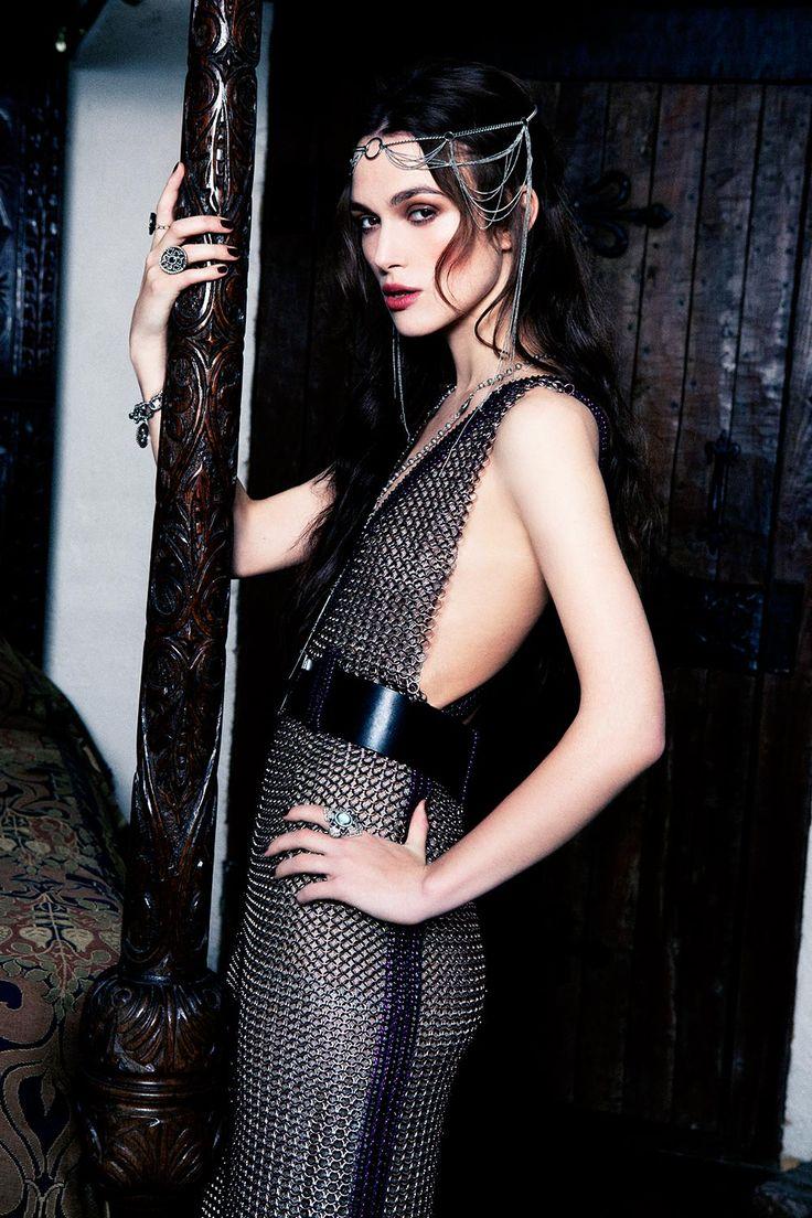 Exclusive: Keira Knightley on the September 2012 cover of Harper's Bazaar   Harper's Bazaar