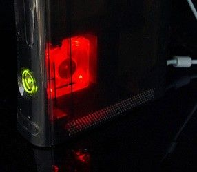XCM Core Cooler, fan for Xbox 360 (Sun Core, red)