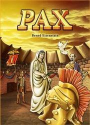 Pax est un jeu de carte. Les joueurs incarnent la révolte des esclaves contre Rome.