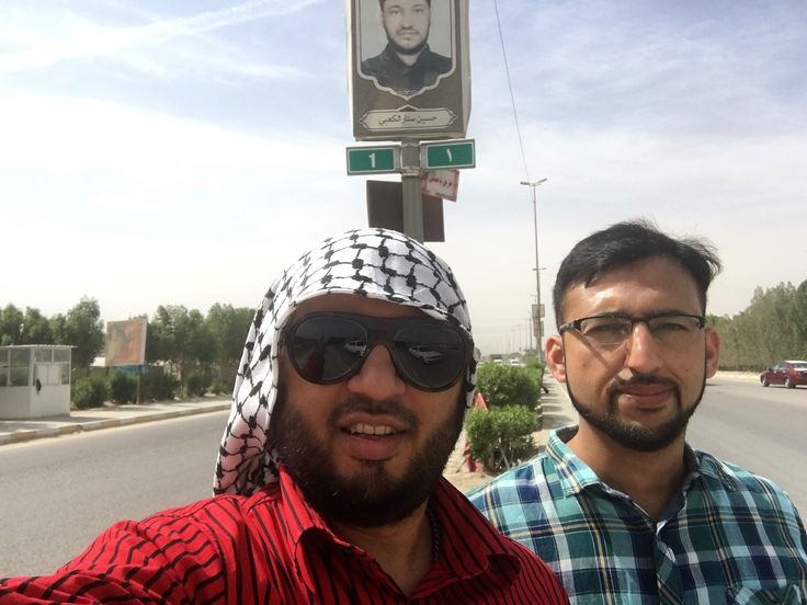 ​Trees4Zawwar Trip to Iraq: Day 4 updates:  Starting from Pole1  Tour of Najaf-Karbala walking route to visualise future plantation phase.