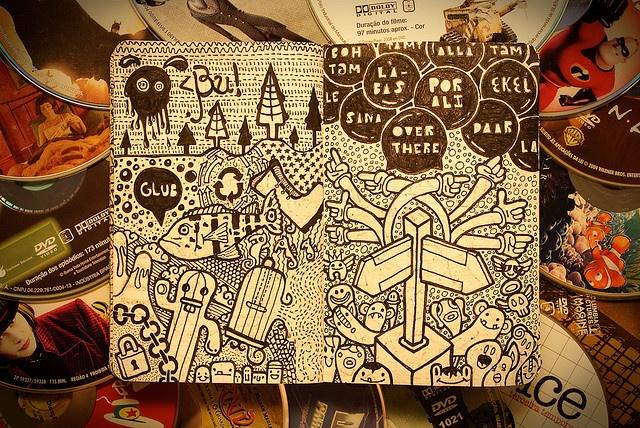 By maykel nunesDoodles Art, Inspiration Ideas, Street Art, Sketchbooks, Illustration Inspiration, Moleskine 线条本ड 来自昌葉七的图片分享 堆糖网, Moleskine Doodles, Moleskine Journals