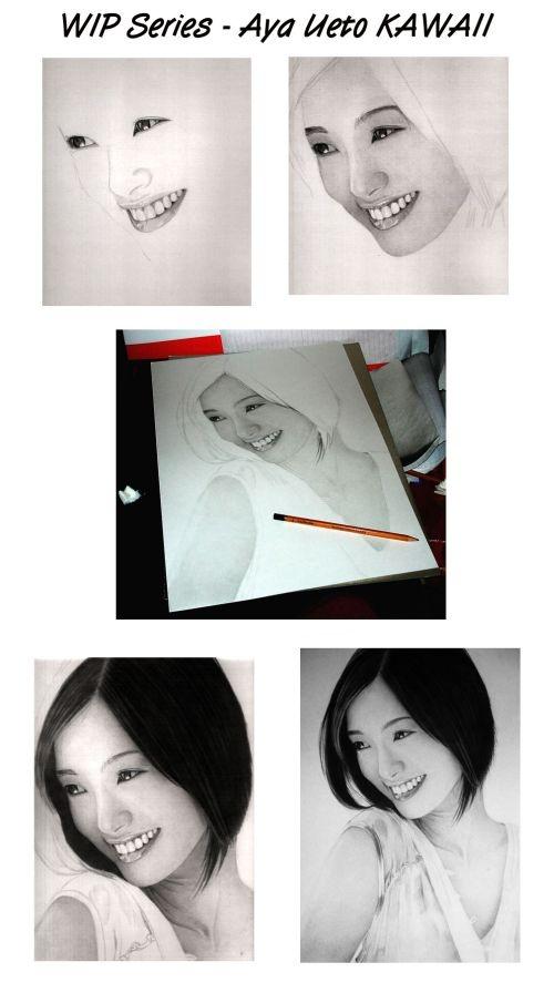 Estou sem criatividade para bolar um título bacana: Os impressionantes retratos hiper-realistas a lápis por Ken Lee