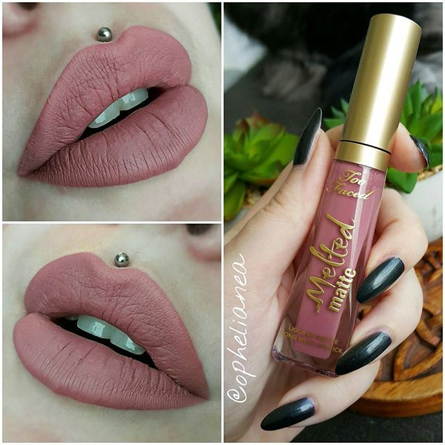Too Faced Melted Matte Liquified Longwear Lipstick :: QUEEN B