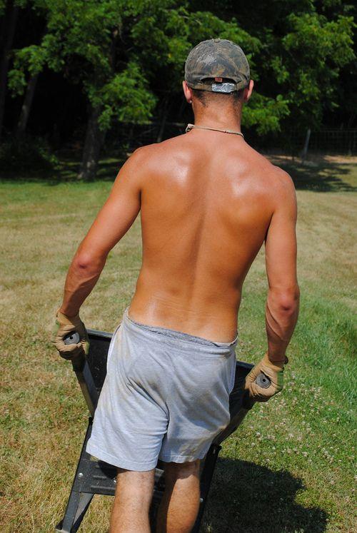 46 Best Men Mowing Lawn Lawnmowers Lawn Mower Images On