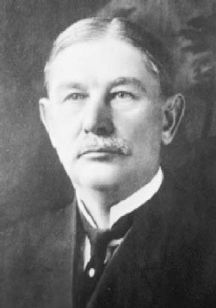 A N Parrish. president of the First National Bank and the man whose shot sparked a murder spree, including his own bloody death, when his bank was robbed by the Fleagle gang.