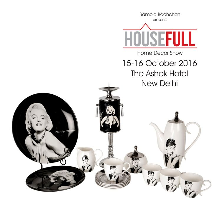 With such beauties in hand, It's always Tea time!! Quirk up your table with this beautiful Marilyn Monroe #teaset #HouseFullExhibition #InteriorDesigner #Decoration #Accessories #LuxuryHomes #Fashion #LuxuryDecor #LuxuryMeetsArt #Interior #Architect #FurnitureIndia #DecorIdeas #RamolaBachchan #Delhi #OctoberShow #AshokHotel #TwoDaysOfShopping