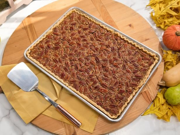 Get Lemon Pecan Slab Pie Recipe from Food Network - Trisha Yearwood