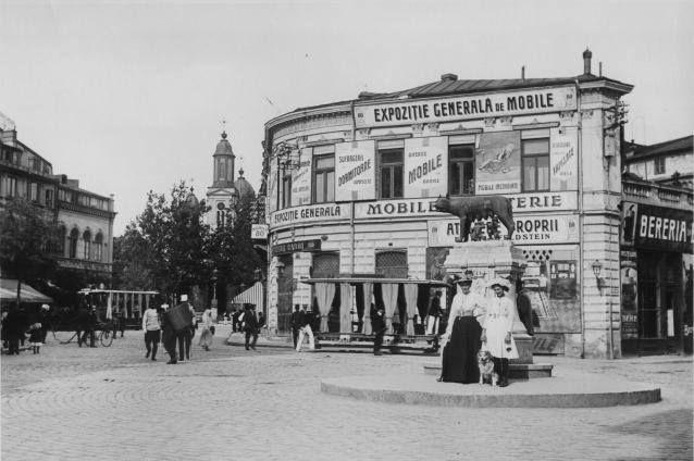 Bucureşti Piața Sf. Gheorghe, 1919