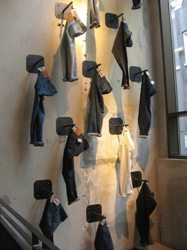 Levi's, Amsterdam, idée de display