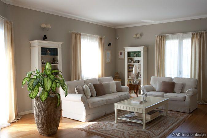 Pittura pareti soggiorno classico cerca con google for Arredamento salotto classico
