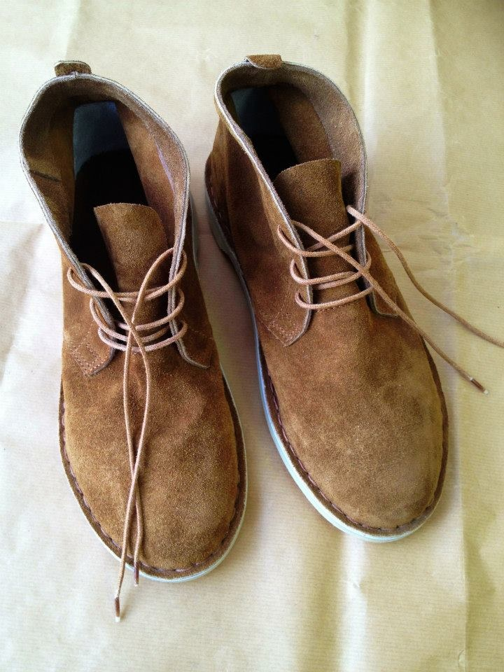 tan suede boots - 'vellies' at KINGDOM