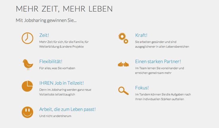 Tandemploy! Die Job-Sharing Plattform für alle, die in Teilzeit Vollzeit arbeiten vollen.