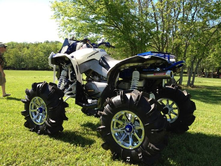 Cool Four Wheelers : Best images about atvs on pinterest indoor polaris