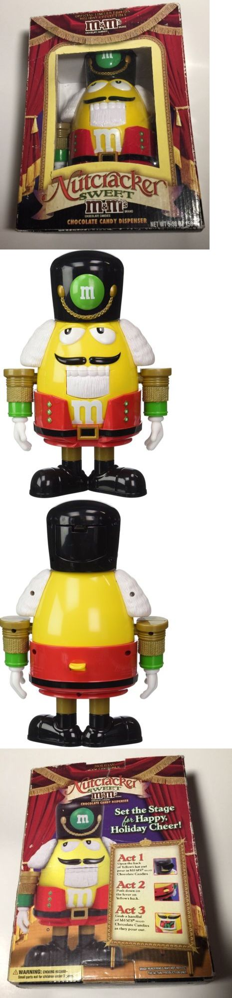 Nutcrackers 177743: Mandm Official Limited Edition Nutcracker Sweet Candy Dispenser - Fast Shipping! -> BUY IT NOW ONLY: $34.99 on eBay!