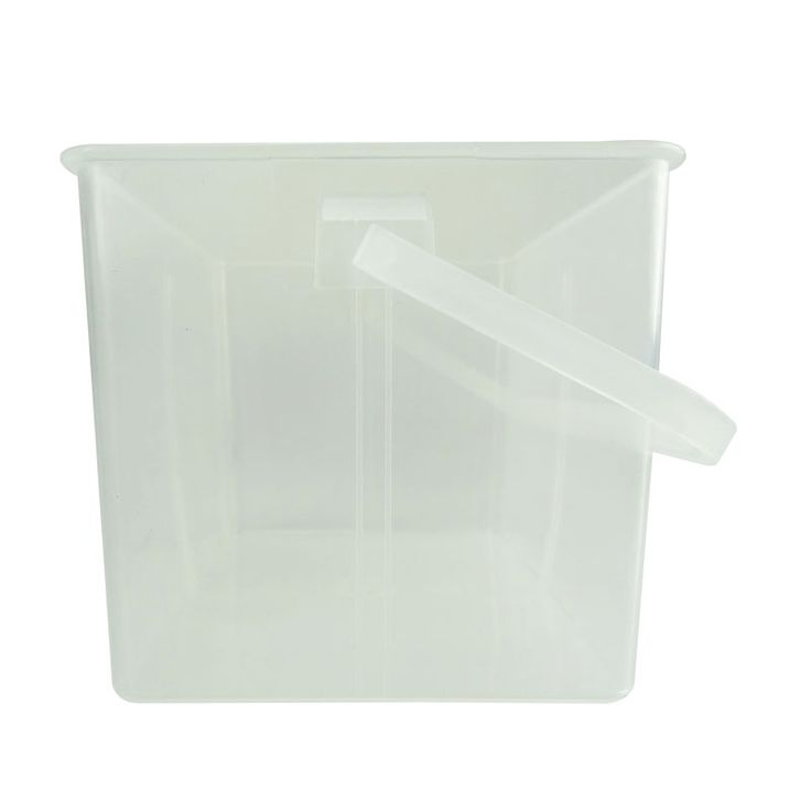 2017 hot new products transparen storage tool box plastic bucket