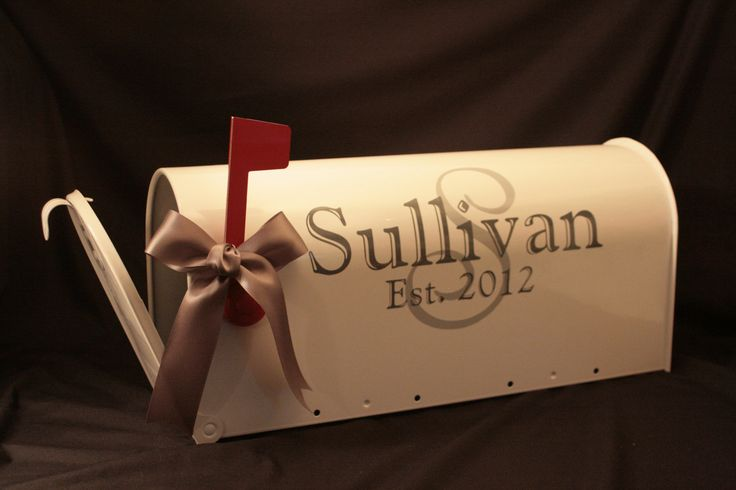 Wedding Mailbox Card Box  Standard USPS size by MarleyintheMiddle, $48.00