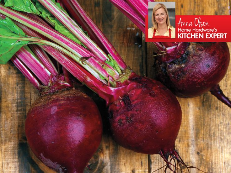 Nutritious, delicious, and wonderfully versatile. Kitchen Expert Anna Olson shows us how to prepare and enjoy more beets in all our meals. http://bit.ly/1SgKCa0 #beets #food #vegetarian